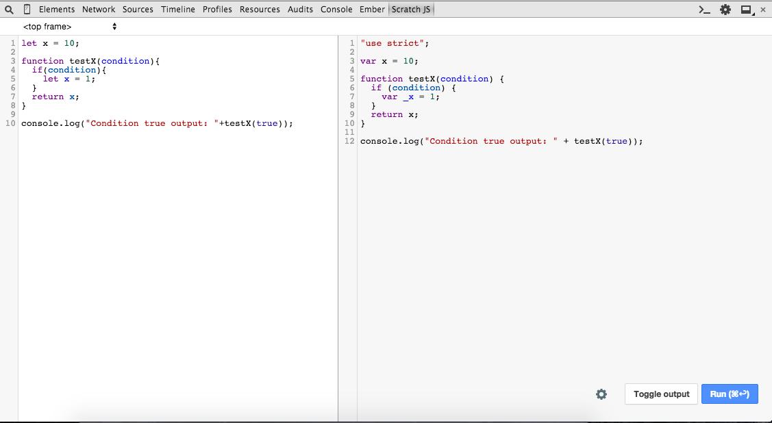 scratch js browser