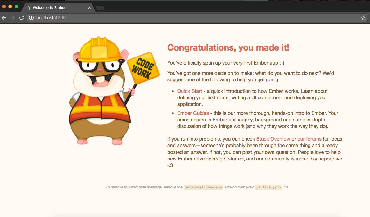 ember-running-browser