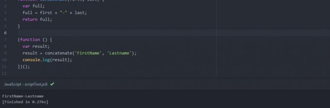script atom js extension